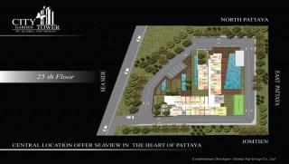 City Garden Tower Pattaya Floor Plans - www.citygardentower.net