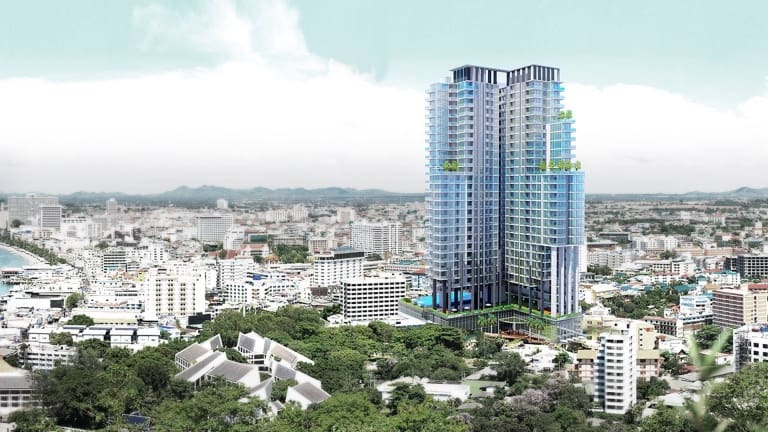 City Garden Tower Pattaya - Rental condo - www.citygardentower.net