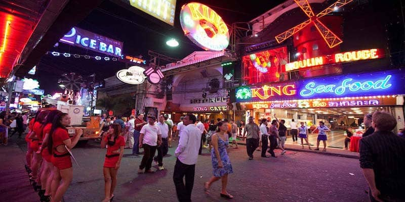 Pattaya Walking Street - Close to City Garden Tower - www.citygardentower.net