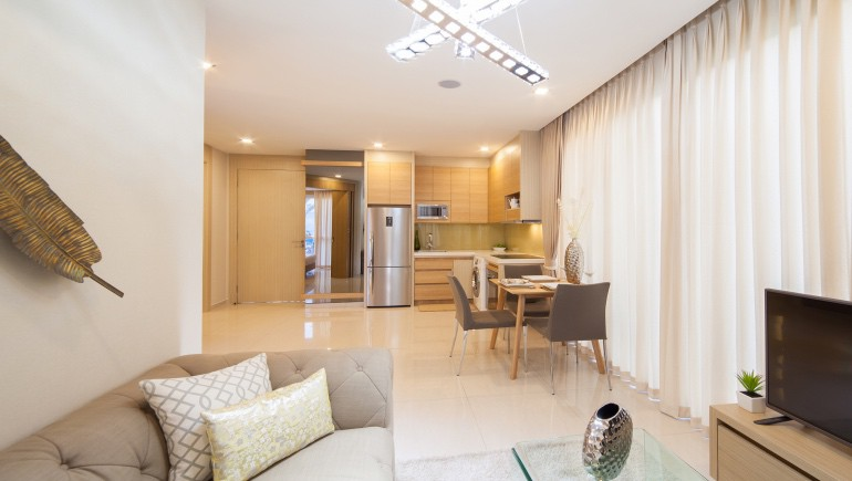 One bedroom condo for rent at City Garden Tower Pattaya - www.citygardentower.net