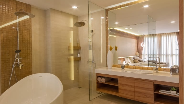 Two bedroom condo at City Garden Tower in Pattaya for rent - www.citygardentower.net