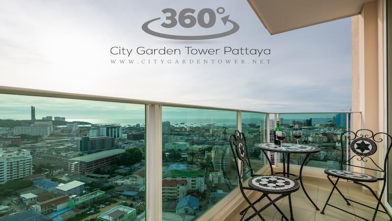 A Virtual Tour at City Garden Tower 2317 - Sea View Rental Condo - Short-Term - Book on www.citygardentower.net -