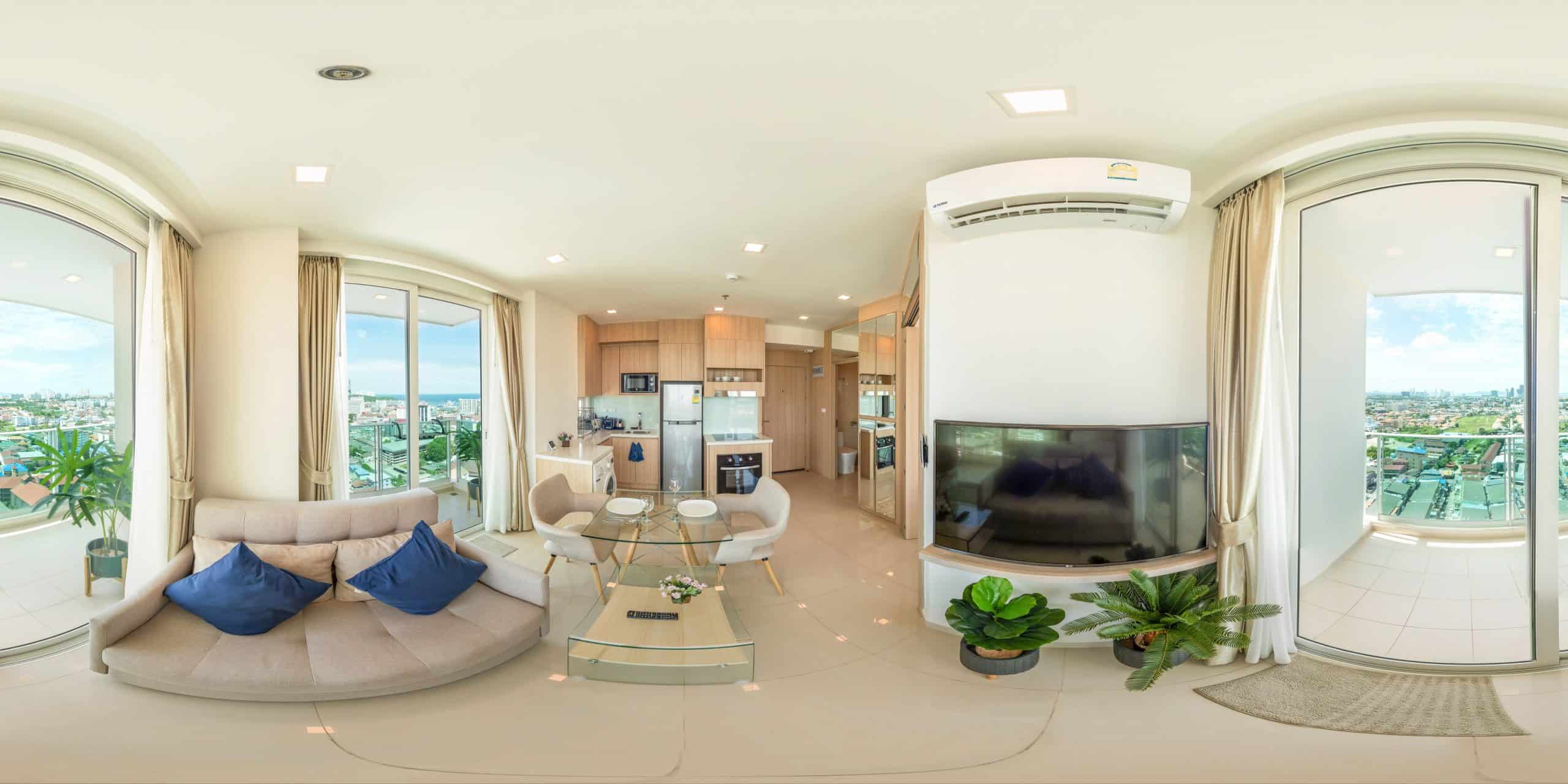 Studio Condo Pictures at City Garden Tower Pattaya
