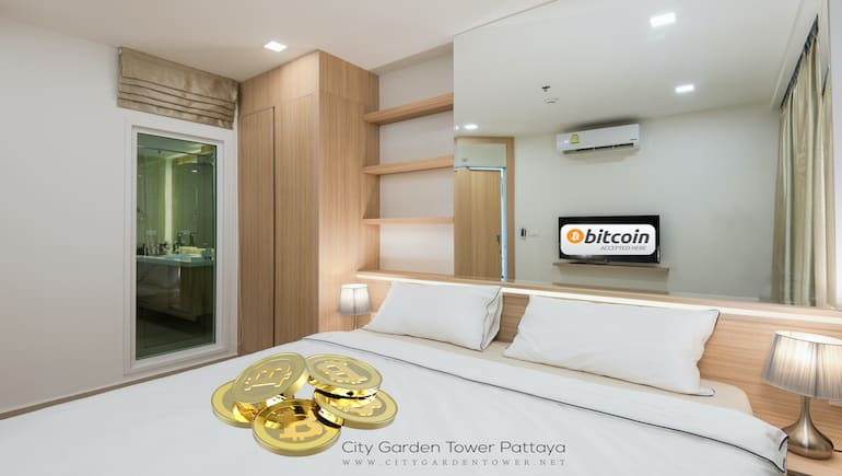 Book Your Stay @ City Garden Tower 2317 - Pay With Crypto - www.citygardentower.net -