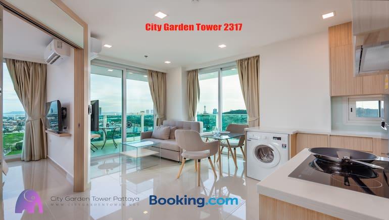 City Garden Tower 2317 - Short-Term Rental Condo - Book City Garden Tower on Booking.com - www.citygardentower.net -