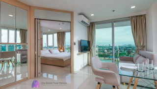 Sea View Condo For Rent & Sale @ City Garden Tower in Pattaya - Book Your Stay Online - www.citygardentower.net -