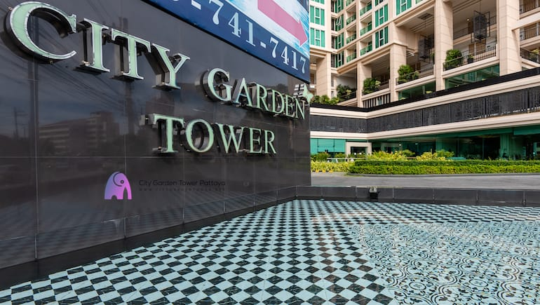 Modern Facilities @ City Garden Tower in Pattaya - Book Your Stay Online - Sea View Condo - www.citygardentower.net -