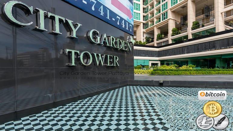 Rental Condo in Pattaya @ City Garden Tower 2317 - Pay With Crypto - www.citygardentower.net -