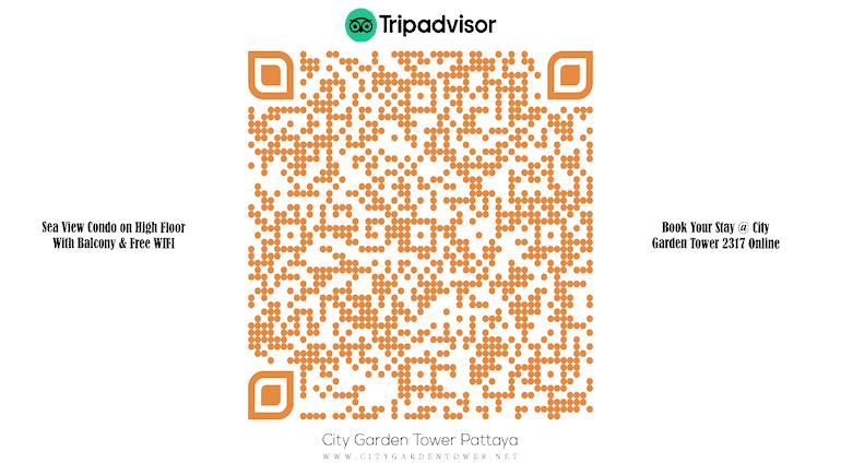 Short-Term Rental Condo in Pattaya - Sea View - High-Floor - Free WIFI - Balcony - City Garden Tower 2317 - Book Online on TripAdvisor - www.citygardentower.net -